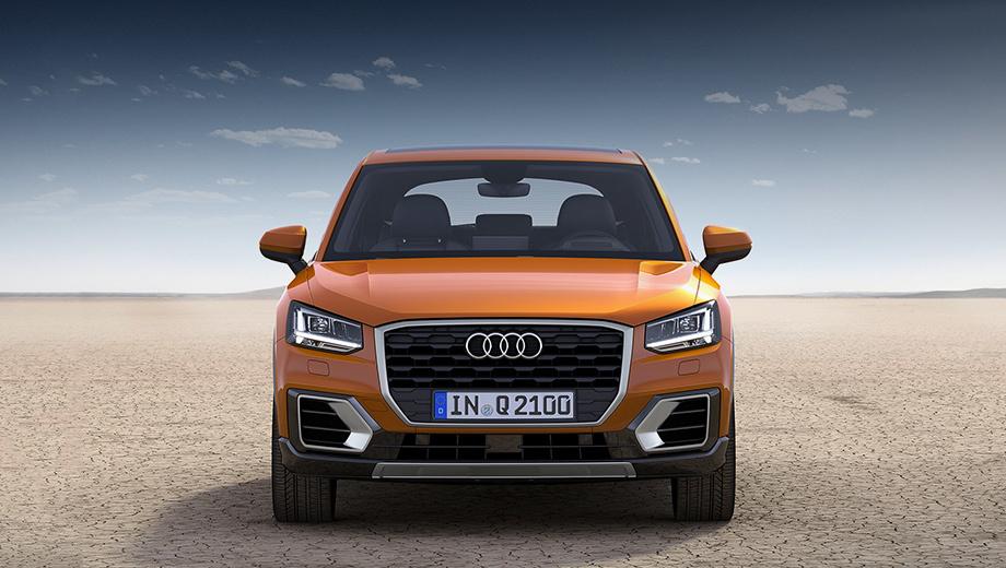 Audi q2,Audi q2l. Стандартный Audi Q2 нам обещали привезти в Россию ещё в начале года. Теперь выяснилось, что этой модели в нашей стране не будет. Совсем. Очевидно, она слишком мала для отечественного потребителя.
