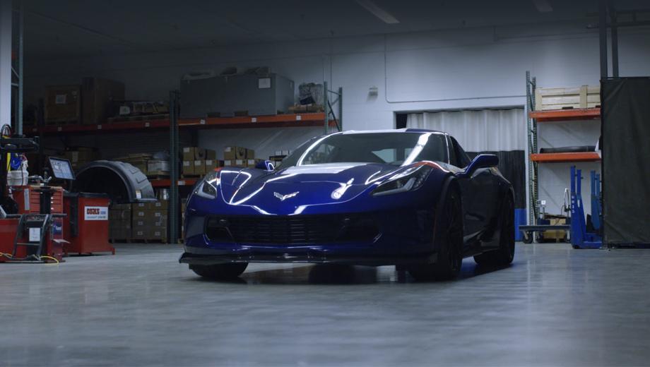 Электрокар набазе Corvette получил мотор на800 л.с