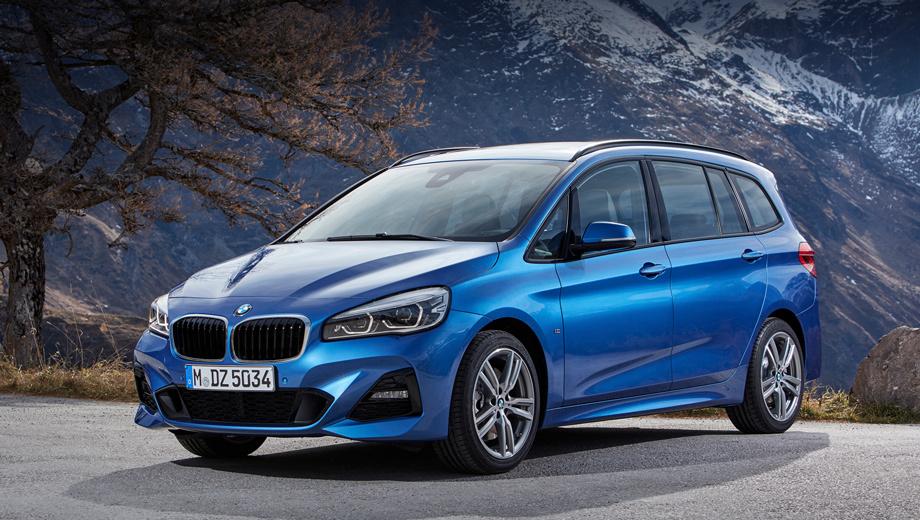 BMW представила обновленный компактвэн 2 Series Active Tourer class=