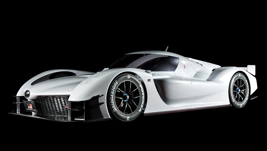 Toyota gr super sport. Колёса из магниевого сплава обуты в слики Bridgestone размерностью 330/710 R18. Тормоза ― углеродокерамические. Дебют концепта состоялся на проходящем в эти дни автосалоне в Токио.