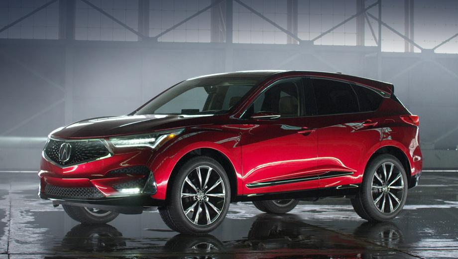 Acura rdx. Решётка «бриллиантовый пентагон», светодиодные фары Acura Jewel Eye, агрессивный бампер, резкие динамичные линии — таково новое лицо бренда. Во всех комплектациях RDX получит панорамную крышу с люком, самую большую в классе.