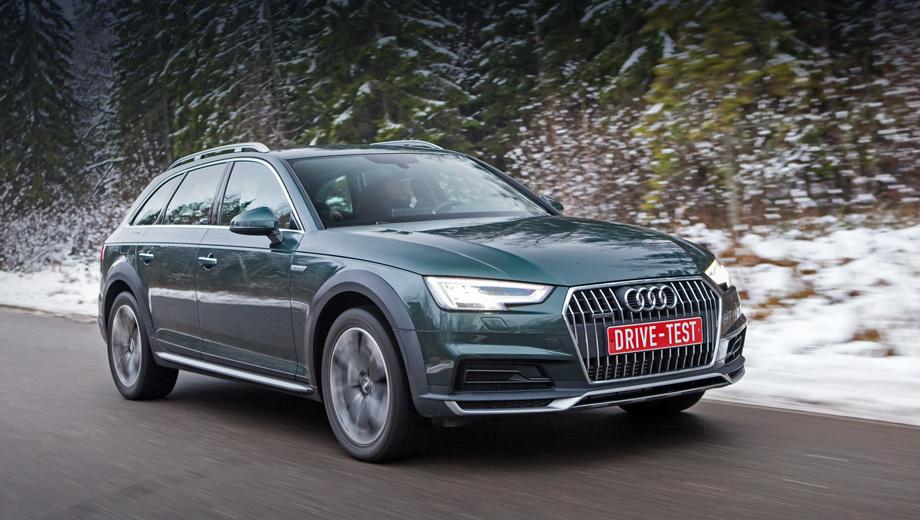 Audi a4 allroad. Стартовая цена в конфигураторе — 2 844 000 рублей. Базовый allroad на 75 тысяч дороже полноприводного универсала A4 Avant 2.0 TFSI. Разумная комплектация обойдётся примерно в три с половиной миллиона, максимальная ― без малого пять.