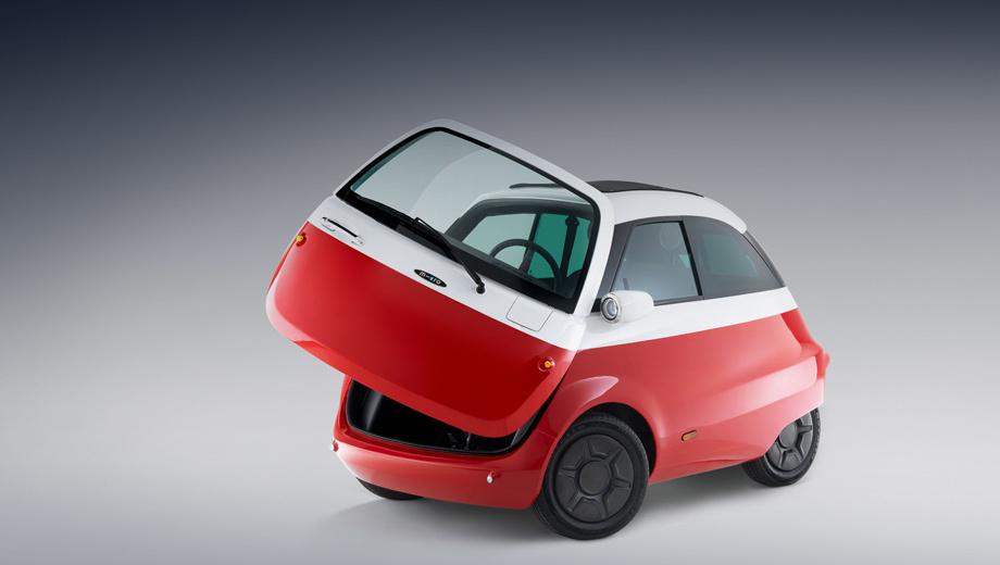 Воскрешение микрокара БМВ Isetta— Электрический Microlino