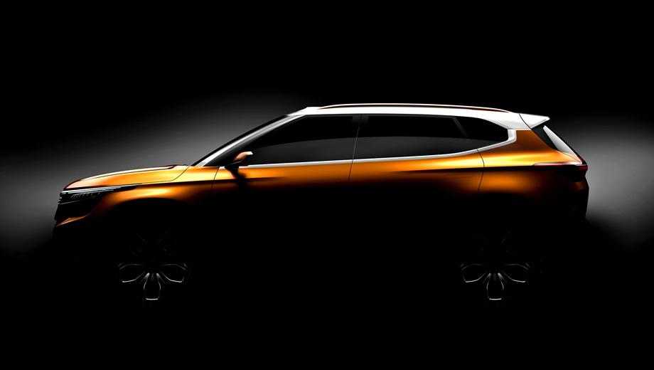 Kia sp concept,Kia concept. Как и положено шоу-кару, SP лишён обычных дверных ручек и боковых зеркал. Контрастная белая крыша у китайской версии уже была. В целом машинка не выглядит какой-то копией.