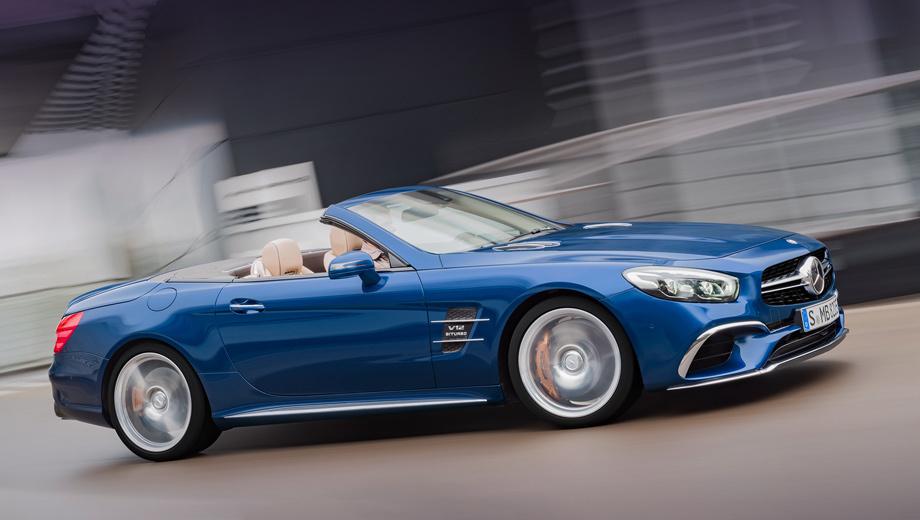 Mercedes sl. Нынешний алюминиевый Mercedes SL (индекс R231) выпускается с 2012 года. Рестайлинг модель пережила в конце 2015-го. Крупнейшим рынком для модели считается США ― 27 658 машин с 2012-го по 2017 год. За тот же период в Европе купили чуть больше 15 тысяч родстеров SL.