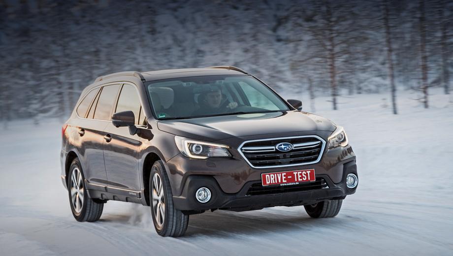 Subaru outback,Subaru wrx sti. Снаружи поменялись фары, бампер, зеркала и дизайн колёс. Старт продаж — в апреле. Цен пока нет, но они вырастут, из-за новых опций. Дорестайлинговый Outback стоит 2,4–2,6 млн рублей за версию с мотором 2.5 (175 л.с.) без учёта хороших скидок. Версия 3.6 (260 л.с.) тоже будет.