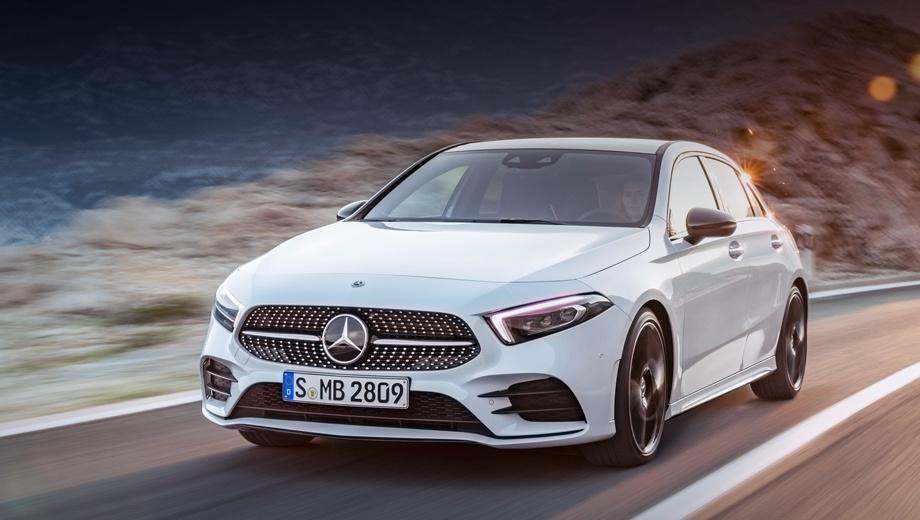 Mercedes a. Сначала к нам попадёт только базовая версия А 200 (163 л.с.). Старт заказов — в марте, одновременно с Европой, но до наших дилеров машины доберутся к лету. Ждём расширения гаммы: уходящее поколение, не считая AMG, у нас продаётся только в виде А 180 от 1,68 млн.
