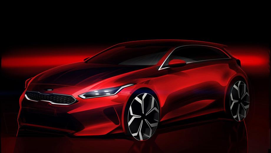 Kia ceed. За дизайн новичка отвечает команда из Франкфурта, попытавшаяся придать хэтчу стилистическое сходство с фастбеком Kia Stinger. Но по-настоящему родственными моделями Сида следует считать Hyundai i30, Элантру GT и Kia Forte.