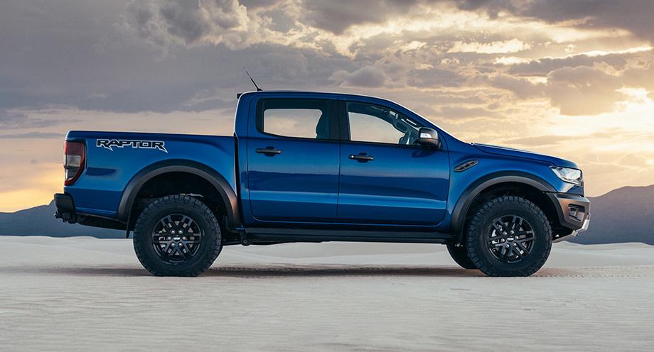 Самую экстремальную версию Форд Ranger рассекретили допремьеры