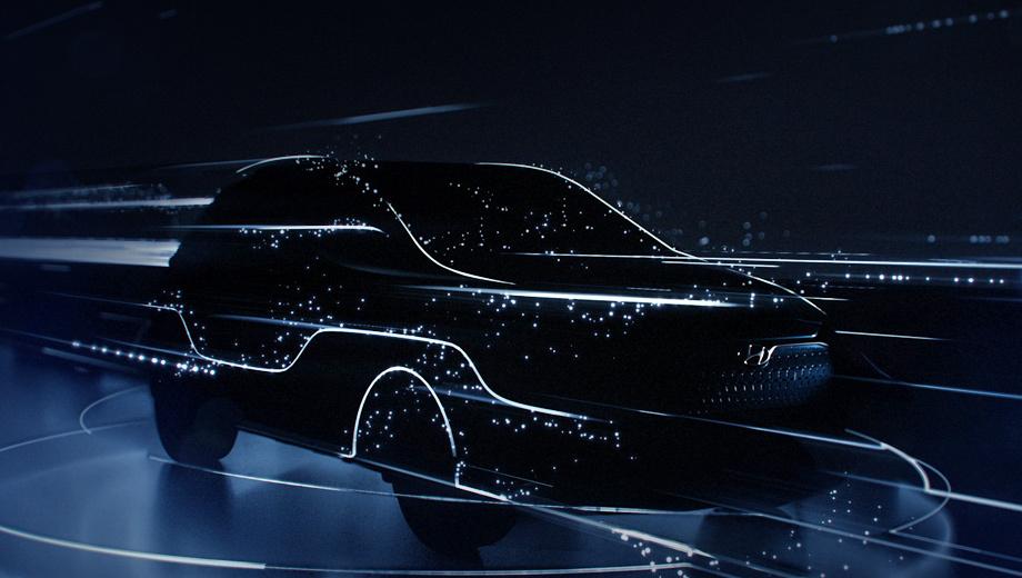 Hyundai kona. Вместе с этой картинкой подразделение Hyundai Motor Europe седьмого февраля опубликовало короткий видеотизер. Информативным его не назовёшь.