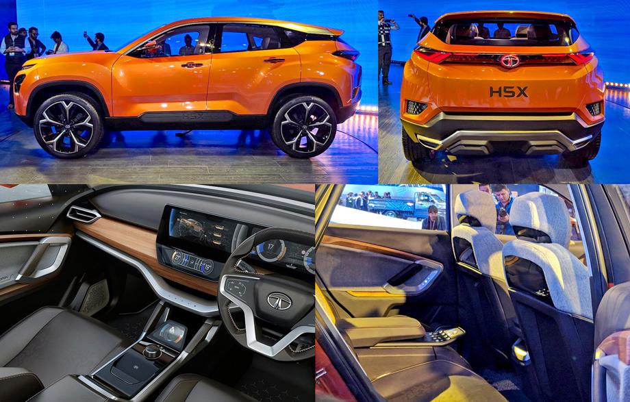 Tata Motors представила концептуальный автомобиль нового джипа наплатформе Лэнд Ровер Discovery Sport
