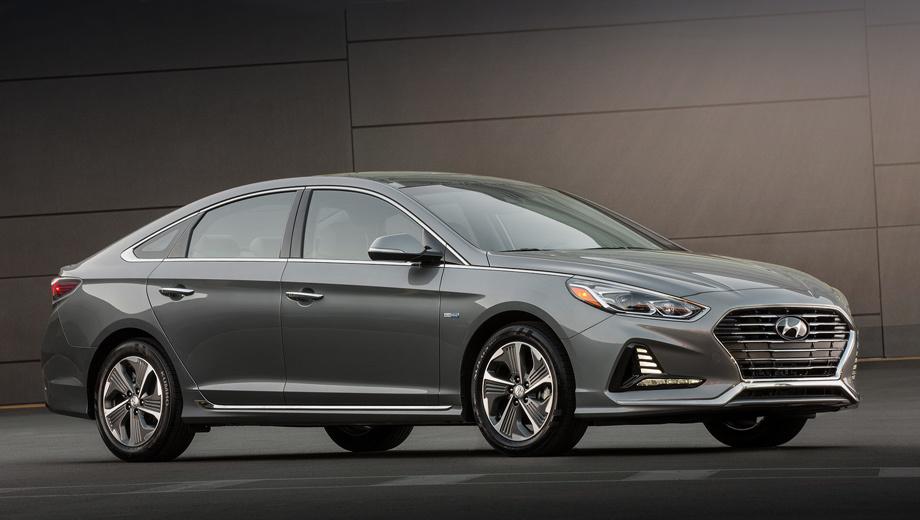 Hyundai sonata,Hyundai sonata hybrid. Цены на модернизированные гибриды Hyundai Sonata пока держатся в тайне, но, по слухам, они почти не поменяются. Сейчас дорестайлинговые версии Hybrid и Plug-in Hybrid стоят в США от $26 000 и $34 600 соответственно.