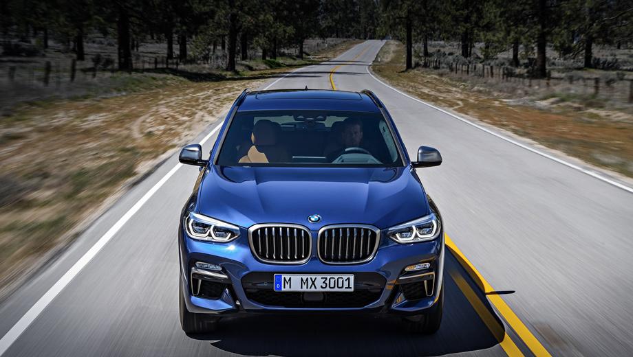 Bmw x4. BMW X3 заметно популярнее более дорогого и менее практичного X4. За 2015–2017 гг. в Европе и Соединённых Штатах продано 251 230 «икс-третьих» против 86 717 «икс-четвёртых». Разница в цене базовых версий сейчас составляет пять тысяч долларов или евро, а в России ― 110 000 рублей.