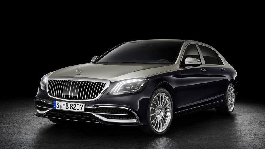 Mercedes -maybach s,Mercedes s. Дизайнеры говорят, что на замену решётки их вдохновил концепт Vision Mercedes-Maybach 6. Странно, но они не вспоминают «вертикальные грили» старых Майбахов 57 и 62.