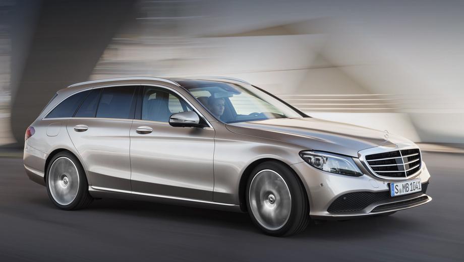 Mercedes c,Mercedes c estate. В Европе заказы на рестайлинговый Mercedes C-класса начнут принимать в марте 2018 года, а первые седаны и универсалы клиенты получат в августе. Покупателям предложат машины с задним или полным приводом, с шестиступенчатой «механикой» или девятидиапазонным «автоматом».