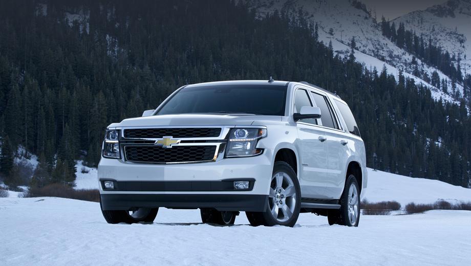 Обновленный Chevrolet Tahoe появился в России