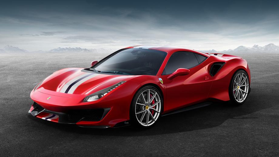 Ferrari 488 gtb,Ferrari 488 pista. Перед нами идеологический наследник специальных моделей Ferrari 360 Challenge Stradale, 430 Scuderia и 458 Speciale.