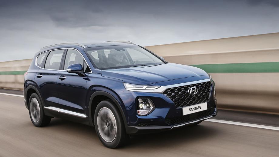 Hyundai santa fe. В Южной Корее Hyundai Santa Fe четвёртого поколения стоит от $25 900 до $33 900. Старт продаж в Северной Америке и России планируется летом 2018 года. К слову, c 2000-го в США купили больше полутора миллионов кроссоверов Santa Fe трёх генераций.