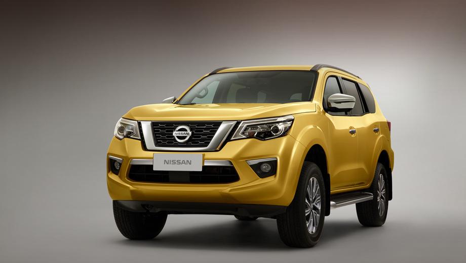 Внедорожник Nissan Terra будет покорять только Азию