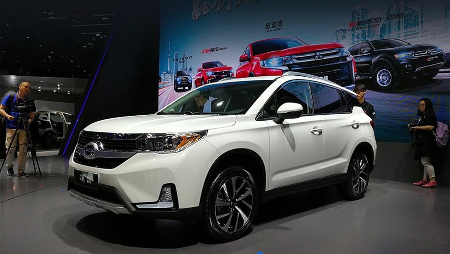 Mitsubishi gac  eupheme phev. Сама модель была впервые показана публике ещё в прошлом году на салоне в Шанхае.