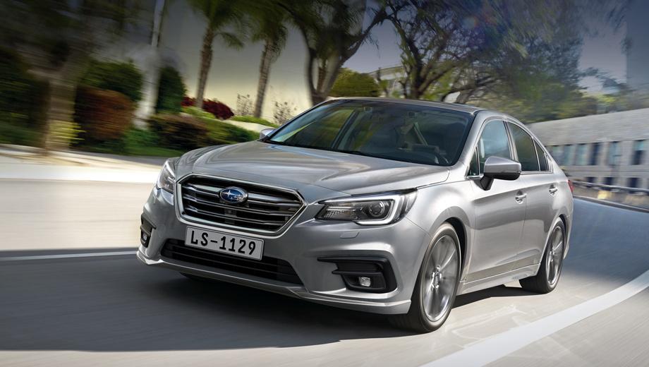 Subaru legacy. На снимках показана версия для США, однако радикальных отличий у нашей быть не должно.