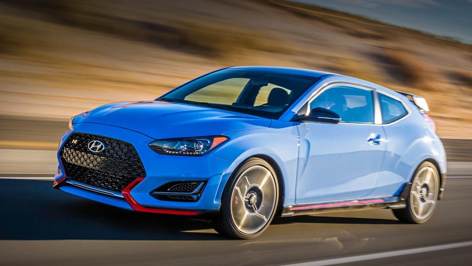 Hyundai n. Новейшей на сегодняшний день «горячей»  моделью Hyundai является хэтчбек Veloster N с наддувной «четвёркой» 2.0 (275 л.с., 353 Н•м) и шестиступенчатой «механикой». Перед ним увидела свет пятидверка Hyundai i30 N с тем же силовым агрегатом.