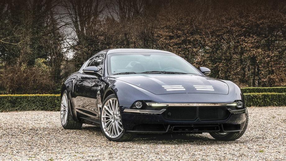 В купе Touring Superleggera Sciadipersia замаскировалось Maserati