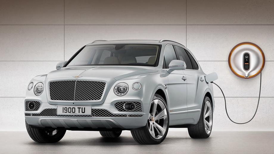 Bentley bentayga,Bentley bentayga hybrid. Bentayga Hybrid — самым дружелюбный к окружающему миру Bentley за всю историю компании. На каждый километр кроссовер выбрасывает в атмосферу всего 75 г углекислоты. Для сравнения, у версий Diesel и V8 этот показатель достигает 210 и 260 г/км.