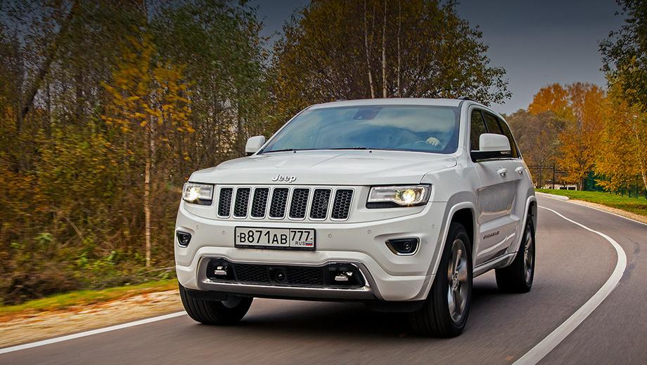 Jeep grand cherokee,Chrysler 300c. В декабре 2017 года Jeep Grand Cherokee был заподозрен в неисправности тормозов. Перед этим проблемы возникали с селектором «автомата» и подсветкой макияжного зеркала.
