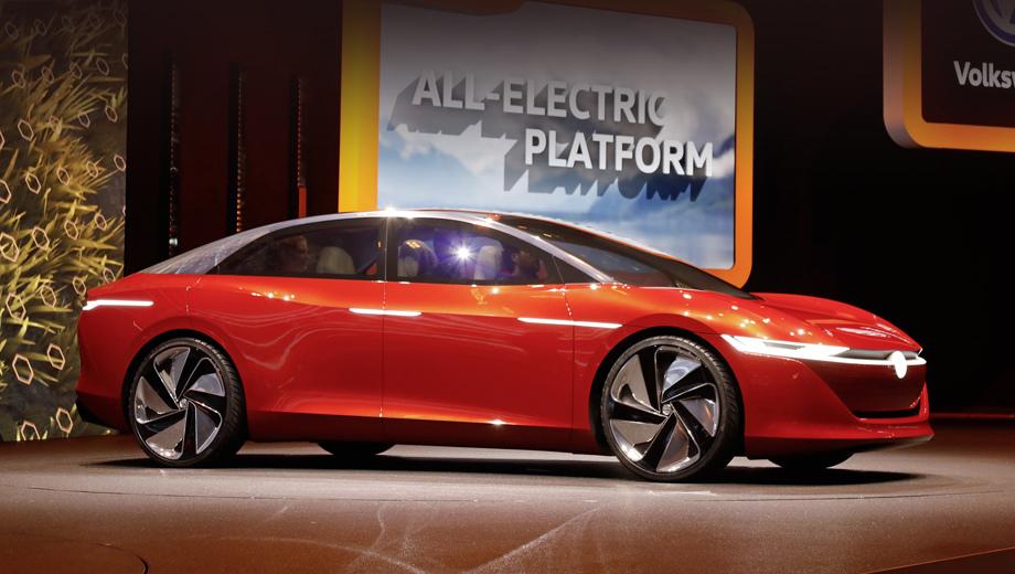 Фольксваген потратит $25 млрд набатареи для электромобилей