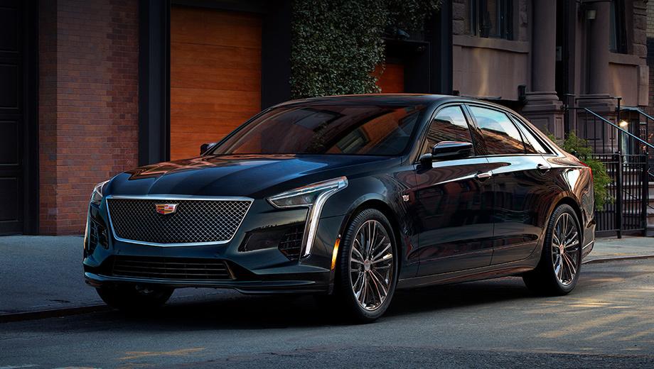 Cadillac ct6,Cadillac ct6 v-sport. В облике «заряженного» CT6 покупатели распознают отдельные черты концепта Escala. Обратите внимание, в частности, на новую решётку радиатора.