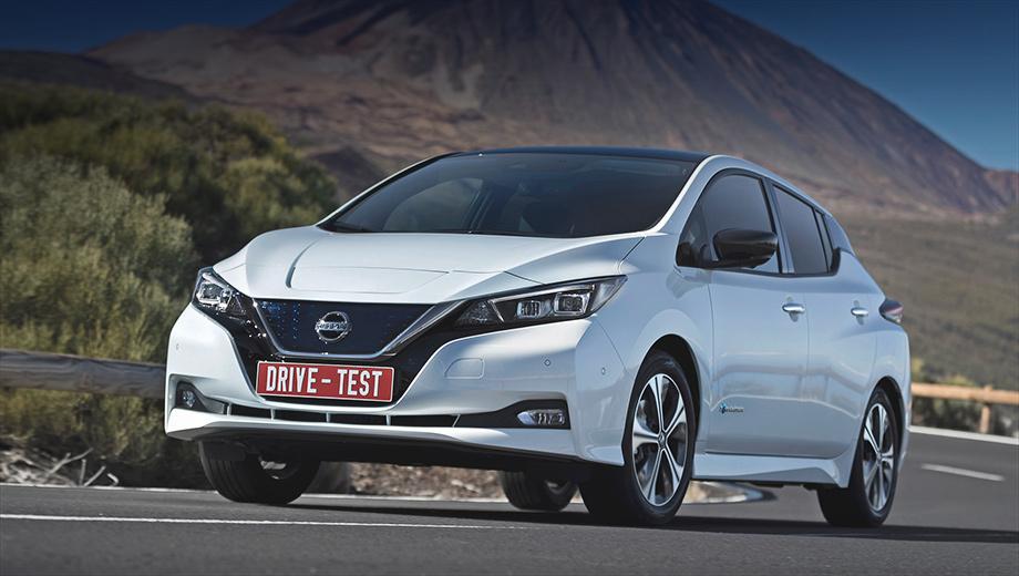 Nissan leaf. О российских продажах пока только мечтаем. В Германии новый Leaf (150 л.с., 40 кВт•ч) стоит 32–39,8 тысячи евро, тогда как Volkswagen e-Golf (136 л.с., 35,8 кВт•ч) — минимум 35,9 тысячи. Обычный бензиновый Golf можно купить уже от 18 075 евро.