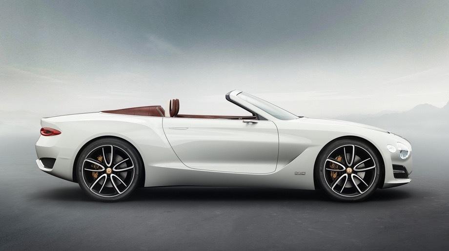 Bentley ev coupe,Bentley barnato. Батарейный концепт Bentley EXP 12 Speed 6e, показанный год назад в Женеве, открыл для марки из Крю сегмент роскошных электрокаров и дал возможность изучить мнение клиентов о нём.