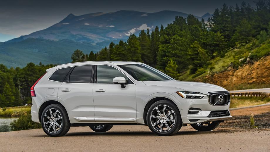 Volvo xc60. Чуть ранее американцы подарили новенькому XC60 звание North American Utility of the Year, а ассоциация Euro NCAP признала XC60 самым безопасным автомобилем в категории Large Off-Road.
