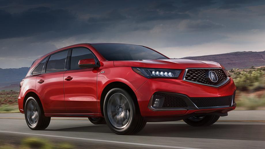 Acura mdx. Acura MDX вот-вот встанет на конвейер завода в Ист Либерти (штат Огайо), а первые клиенты получат автомобили уже летом 2018 года. По ценам пока тишина, но, по слухам, MDX со спорткитом будет стоить около $52 тысяч. Для сравнения, полноприводный Lexus RX 350 F Sport оценивается в $50 320.