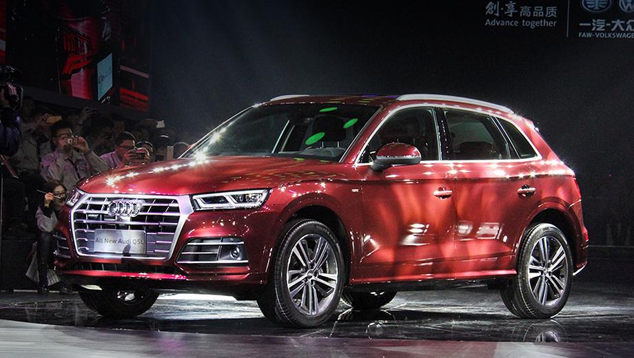 Audi q5,Audi a5 l. «Ку-пятый» стал первым удлинённым кроссовером «четырёх колец» в КНР. Он присоединился к «растянутым» седанам Audi A4 L, A6 L и A8 L.