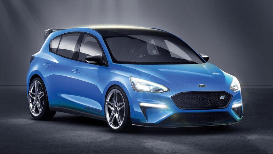 Новый Форд FocusRS окажется гибридом