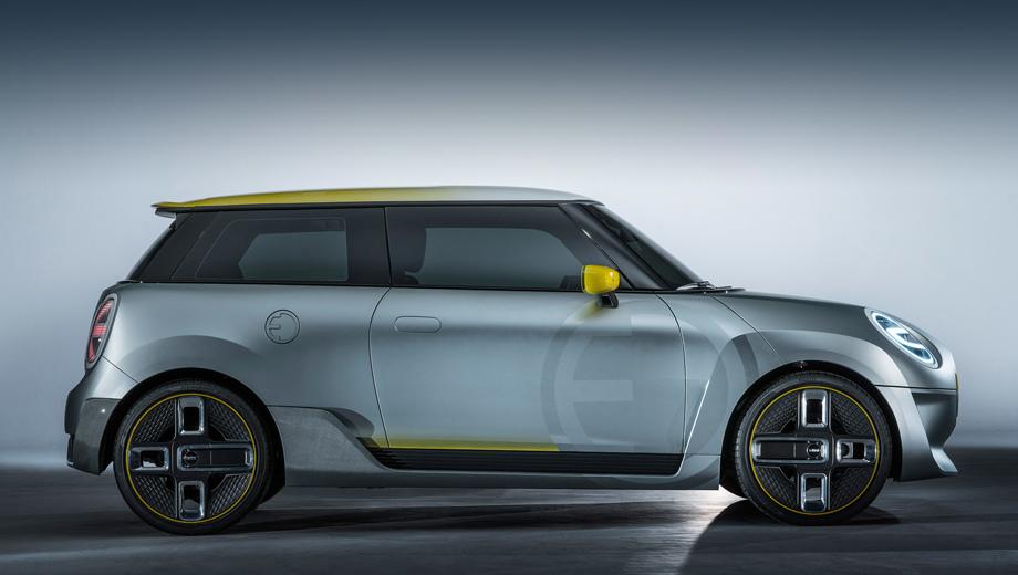 Bmw i1. Компактный i1 станет входным билетом в мир электрокаров BMW. (На фото — концепт Mini Electric).