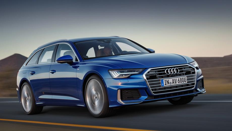 Audi a6,Audi a6 avant. Все версии Аванта получили 48-вольтовую сеть, двухрежимный стартер-генератор и литий-ионную батарею. Благодаря гибридной системе MHEV, при отпущенной педали газа на скорости от 55 до 160 км/ч глушится двигатель и можно ехать накатом до 40 секунд.