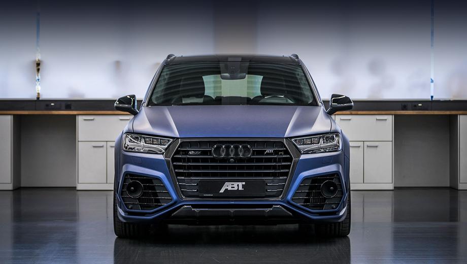 Audi sq7. Данный дизельный Audi — не про экономию. Покорять должна пресловутая «паровозная тяга» с низов и до верхов.