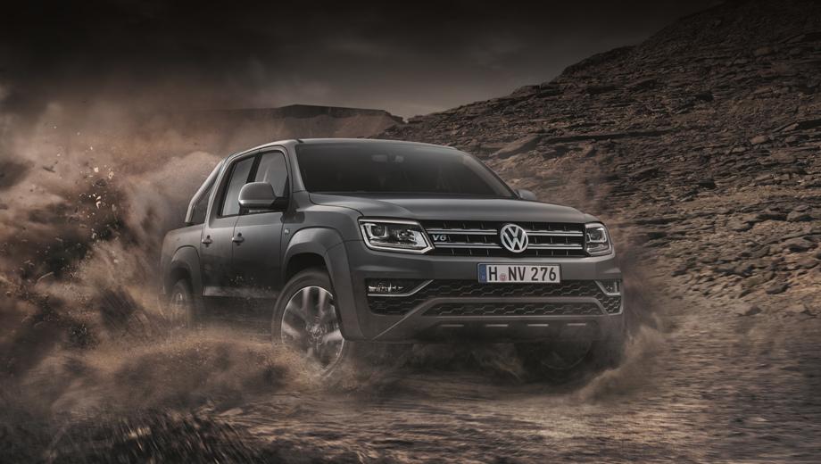 Volkswagen amarok. Новый топовый дизель будет доступен европейцам в комплектациях Highline и Aventura.