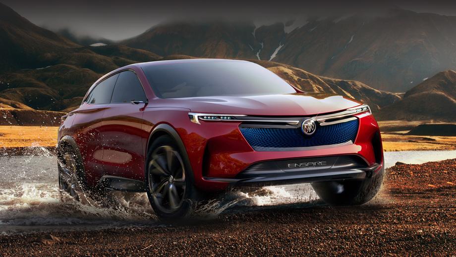 Шоу-кар Buick Enspire блеснул возможностями электропривода