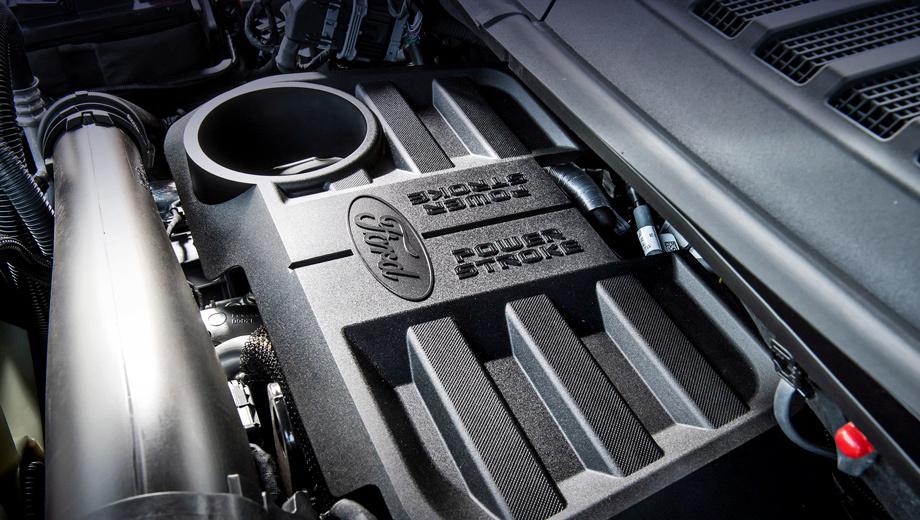 Ford f-150. Грузоподъёмность дизельного пикапа Ford F-150 варьируется от 880 до 916 кг в зависимости от исполнения. А ещё 258-сильный автомобиль может тащить за собой прицеп массой 5171 кг.