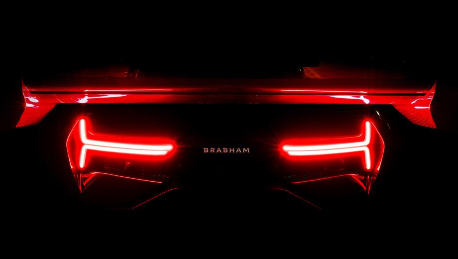 Мотор 5.4 V8 и87 млн. руб. — 1-ый суперкар Brabham