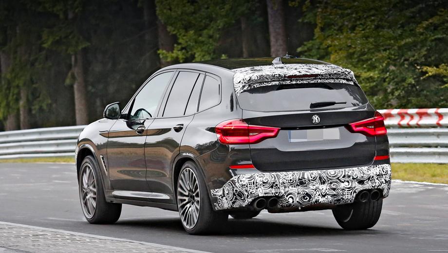 Кроссовер BMW X3 M обзаведётся пакетом Competition