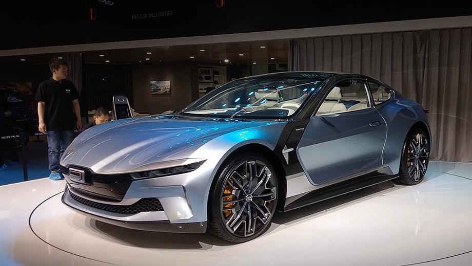 Бренд Qoros начнёт новую жизнь с концепта 5G Coupe