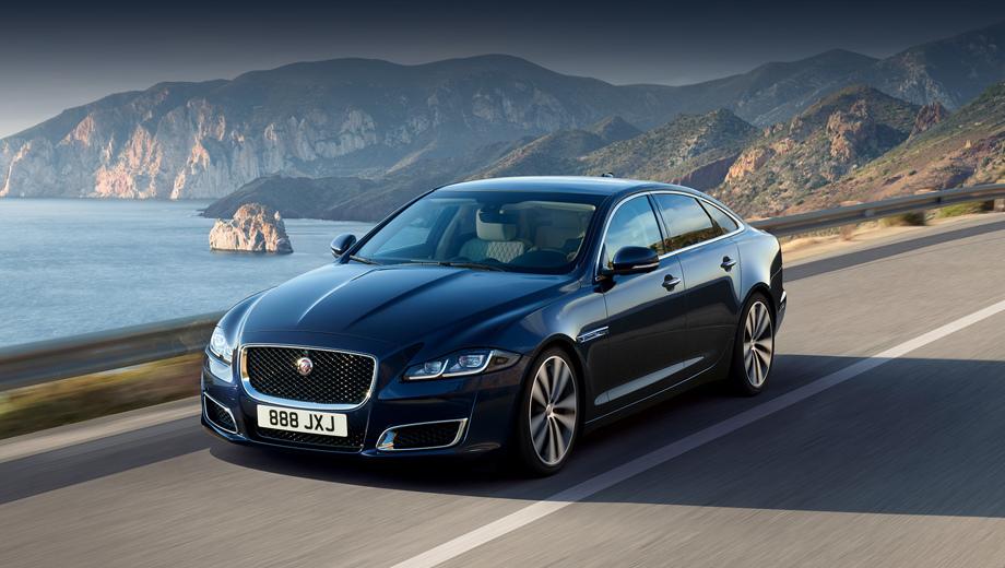 Jaguar xj. В Британии стартовая цена юбилейной машины равна 74 280 фунтов. Российский ценник будет оглашён позже