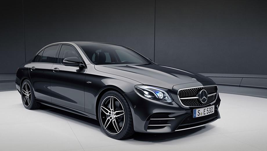 Mercedes e,Mercedes e amg. В зависимости от уровня оснащения седан Mercedes-AMG E 53 4Matic+ в смешанном цикле потребляет 8,6–8,7 л/100 км, а универсал ― от 8,7 до 8,9. Пик тяги двигатель 3.0 выдаёт на 1800–5800 об/мин.