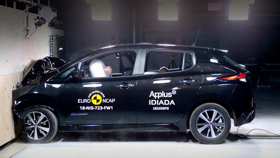 Электрокар Nissan Leaf опробовал новые тесты Euro NCAP
