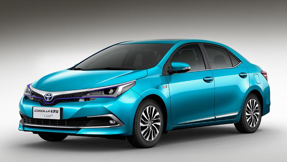 Toyota corolla. Китайские Corolla и Levin являются по сути одной и той же моделью, а разные названия обусловлены разными производителями. Если Короллу выпускает совместное предприятие FAW-Toyota, то Левина делают на заводе GAC Toyota.